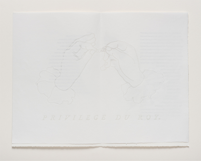 Watermark in paper made for this edition
