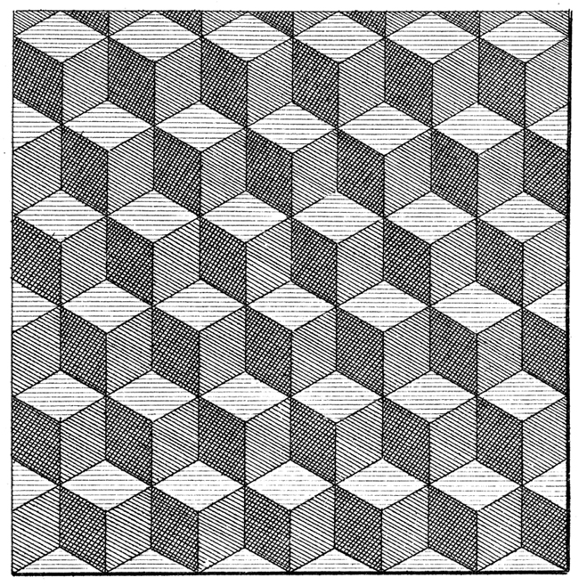 Floor tile pattern from the Encyclopédie